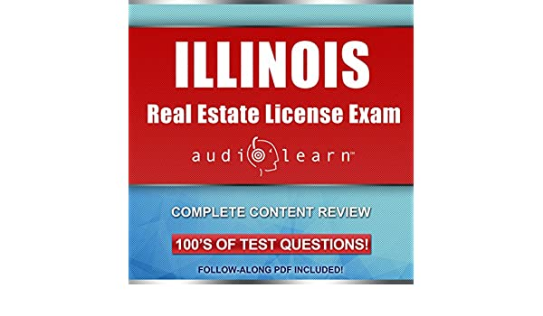 Amazoncom Illinois Real Estate License Exam Audiolearn Complete