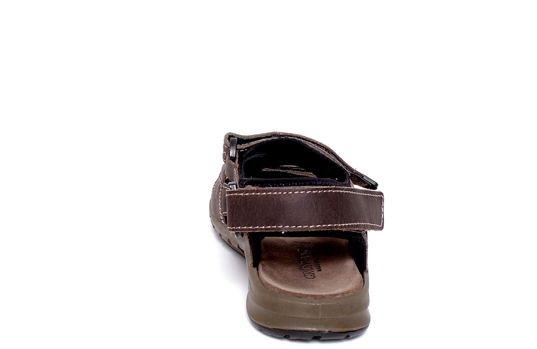 Grunland glattleder, Isor herren, glattleder, Grunland Sandale Testa Di Moro 3f23aa