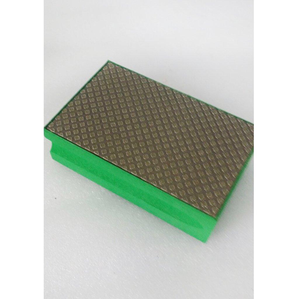 Gazechimp Mousse de Polissage /à Diamant Eponge Polishing Block pour Marbre Pierre Carrelage B/éton Orange 3000 Grit