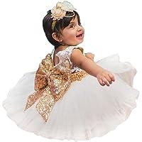 hibote Niñas Bowknot Lace Princesa Falda Summer Sequins