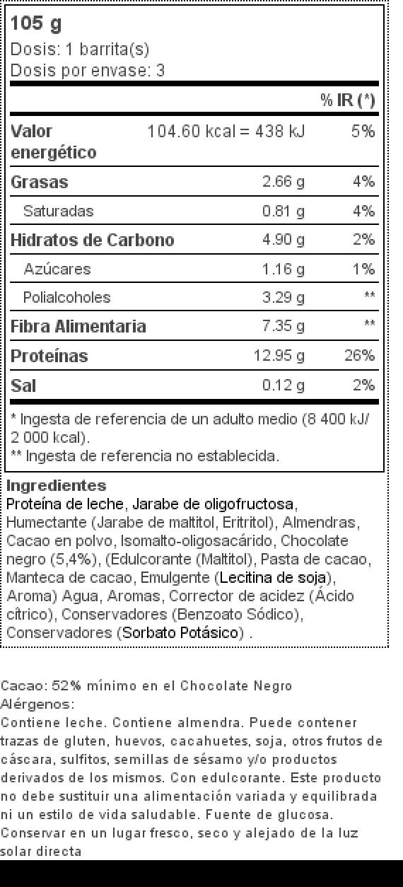 3 x Diet Bar 35 g Brownie de chocolate: Amazon.es: Salud y cuidado personal