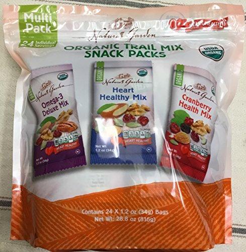 (Nature's Garden ORGANIC Trail Mix Snack Packs 24 ct)