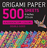 "Origami Paper 500 sheets Kaleidoscope Patterns 6"" (15 cm): Tuttle Origami Paper: High-Quality Origami Sheets Printed with 12 Different Designs: Instructions for 8 Projects Included"