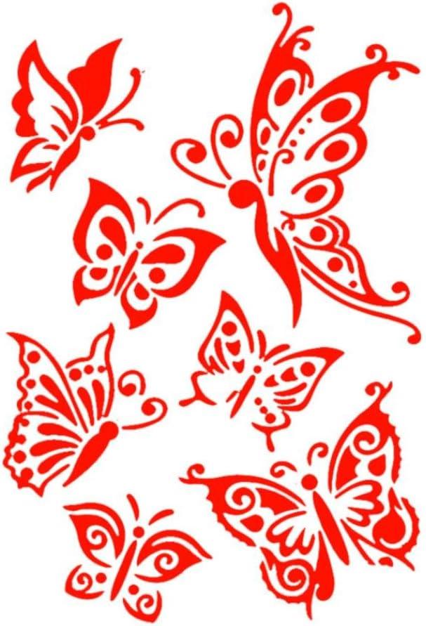 2017 caliente venta. elevin (TM) DIY Tarjeta de papel, diseño de letras de plástico pintura molde número Spray de carrocero capas reutilizable plantilla plantillas de pared muebles decoración: Scrapbooking: Amazon.es: Juguetes y