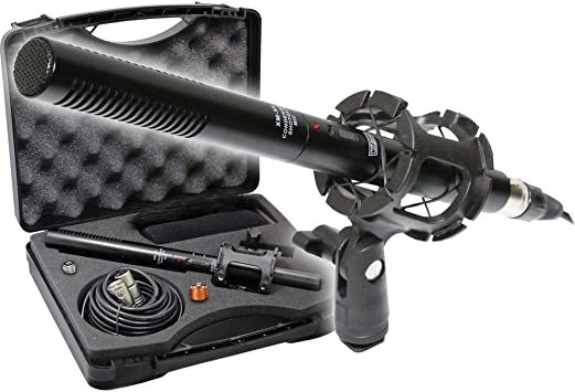 Canon Vixia HF R80 Camcorder External Microphone Vidpro XM-55 13-Piece Professional Video /& Broadcast Unidirectional Condenser Microphone Kit