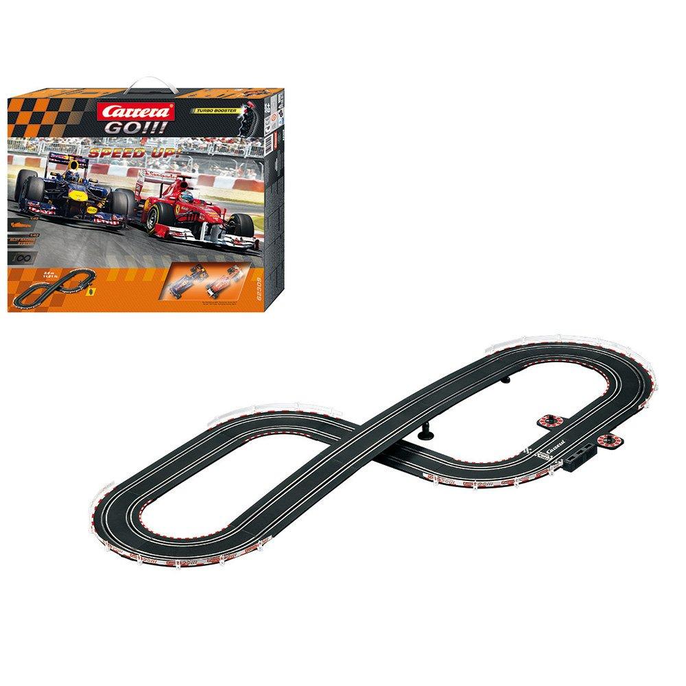 Carrera - Circuito GO!!! Lap Record!, escala 1:43 (20062336): Amazon.es: Juguetes y juegos