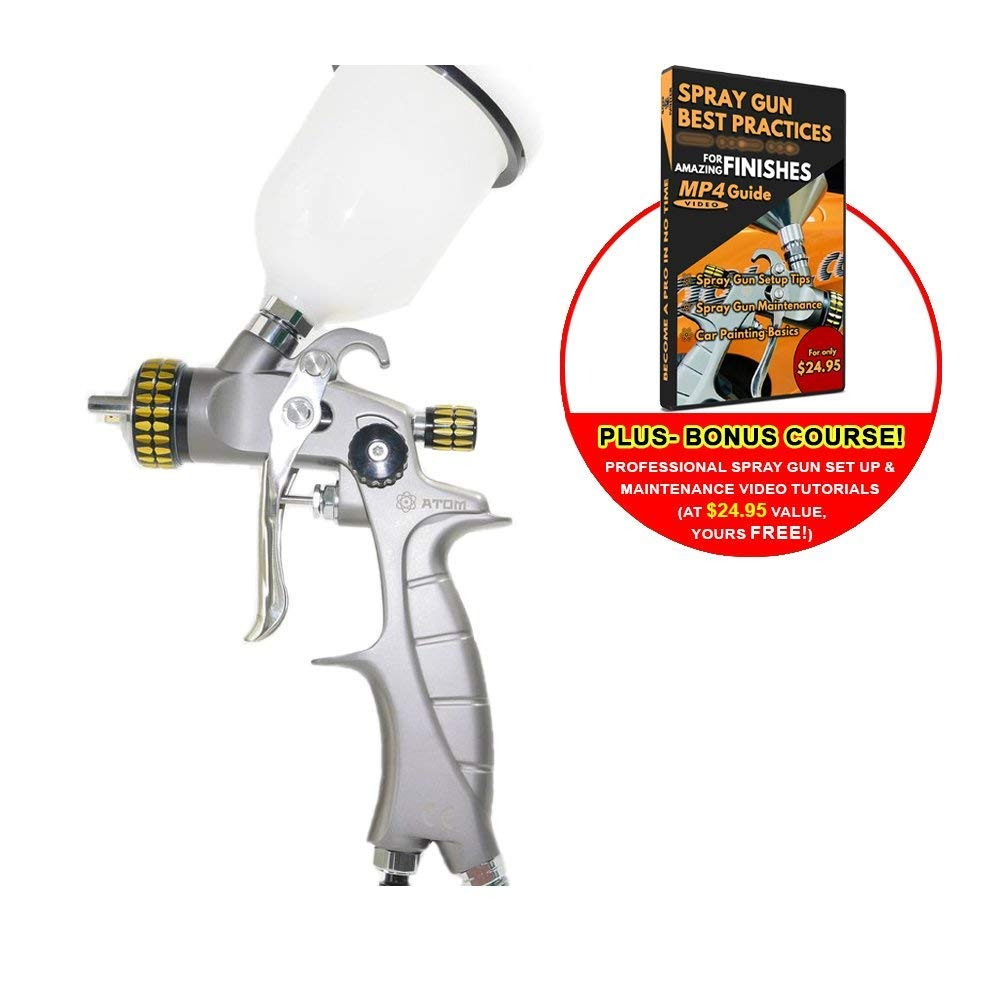 Atom Mini X16 Professional Spray Gun HVLP (1.0mm)