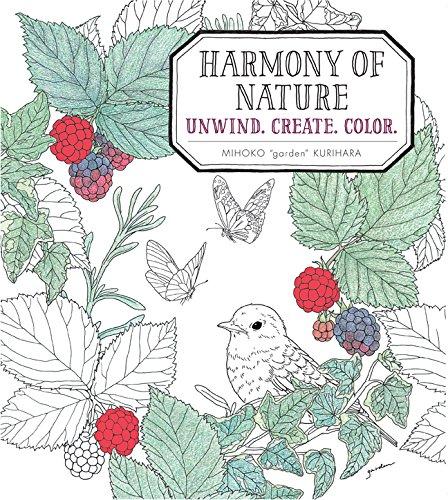Harmony Of Nature: Unwind. Create. Color.