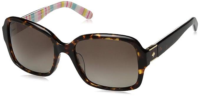 031731fda6 Amazon.com  Kate Spade Women s Annora p s Aviator Sunglasses HAVANA ...