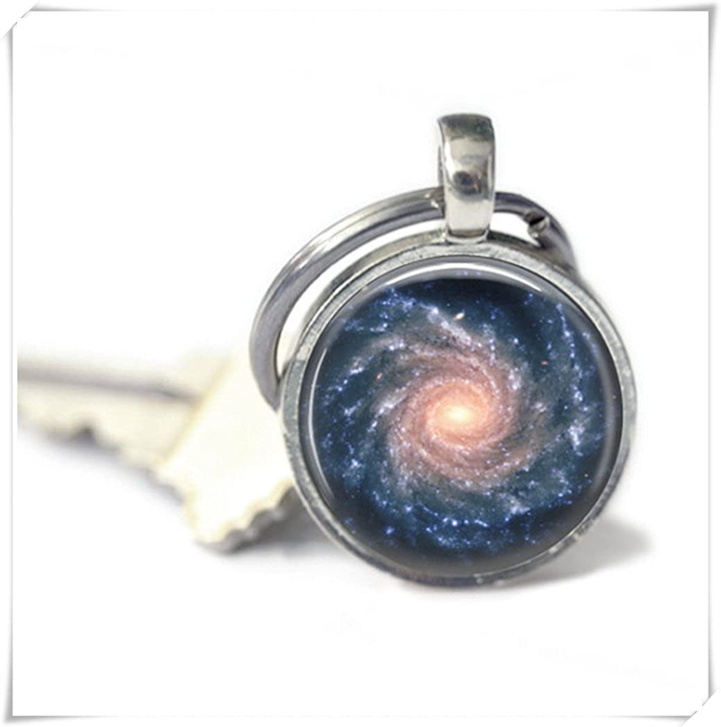 Amazon.com: Mágico imán espiral Galaxy llavero, Galaxy ...