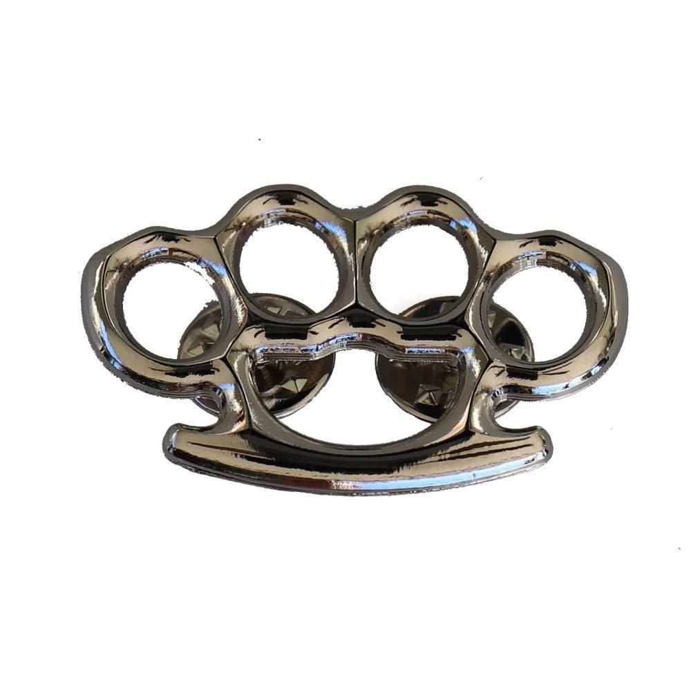 Amazon.com: Artes Marciales Mixtas Plata Knuckles Pin: Arte ...