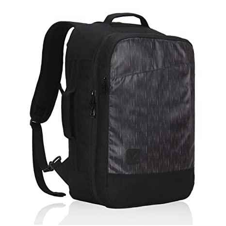 4f0574ce0d0b Veevan Flight Approved Carry on Backpack Business Weekend Bags Travel  Rucksack 28 Liter Black  Amazon.co.uk  Luggage