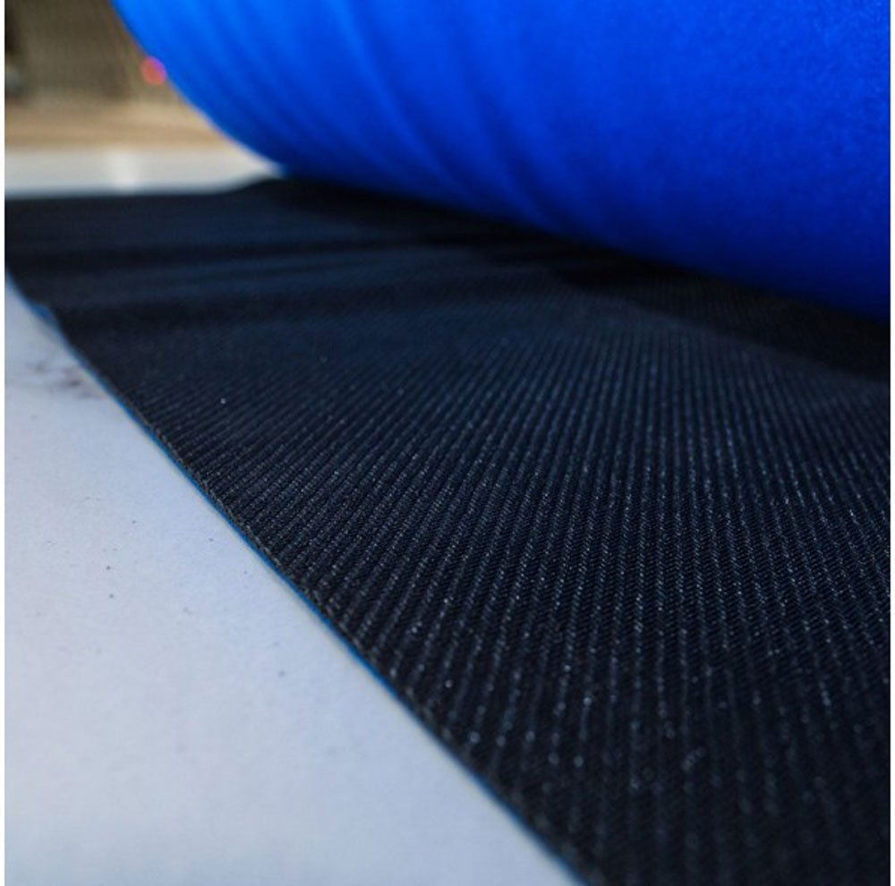 27'' x 20' Neoprene Floor Runner - Reuseable Floor Protection Slip Proof Surface, Non-Skid Bottom, Protect All Floor Surfaces | Great for businesses and homes (BLUE) by iPackBoxes