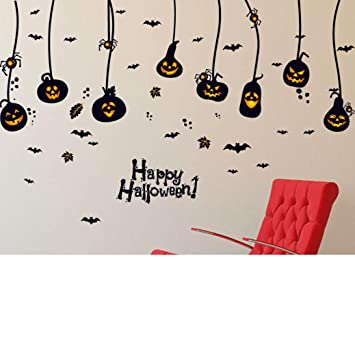 Usstore Wall Stickers Household Halloween Festival Home Decor Art Decoration B