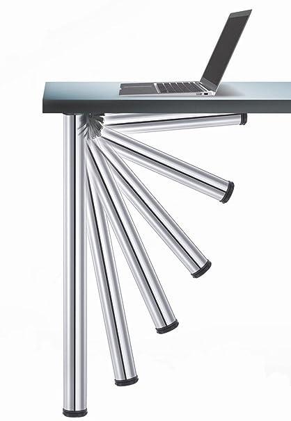 Gambe Ripiegabili Per Tavoli.Confezione 4 Gambe Pieghevole Per Tavolo 656 Click Camar