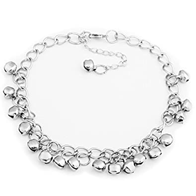 Silver Crystal Rhinestone Beaded Anklet Ankle Bracelet Chain Adjustable Uk Reliable Performance Jewelry & Watches Anklets