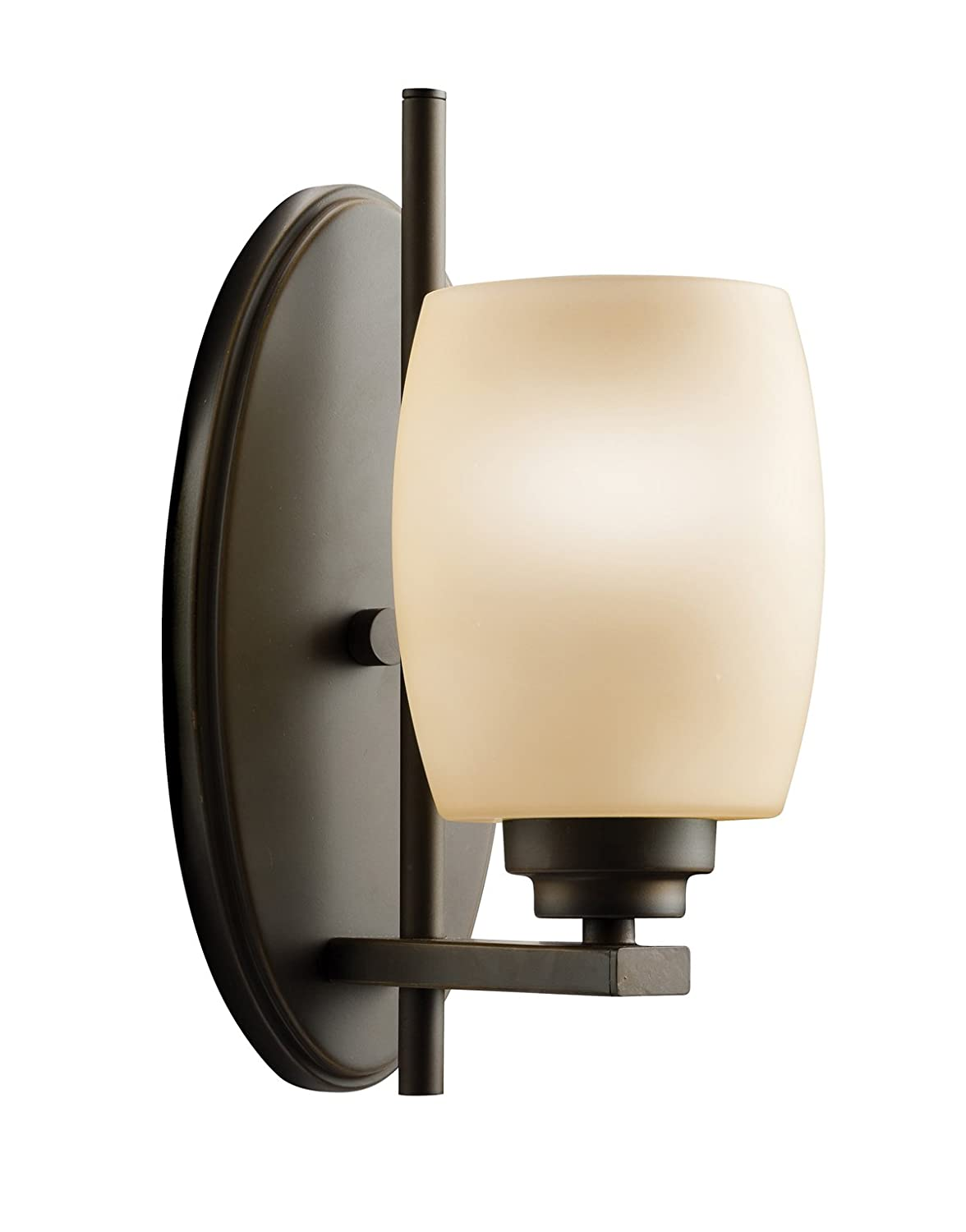 Kichler 5096oz one light wall sconce amazon amipublicfo Image collections