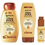 Garnier Ultra Doux Honey Damage-Free (Shampoo + Conditioner + Serum)