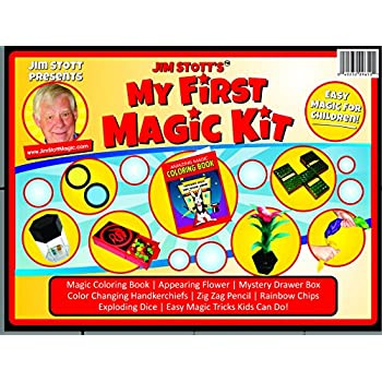 Jim Stotts My First Magic Kit Set Featuring Easy To Learn Tricks