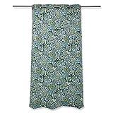Pillow Perfect Outdoor / Indoor Zoe Mallard 94-inch Drapery Panel