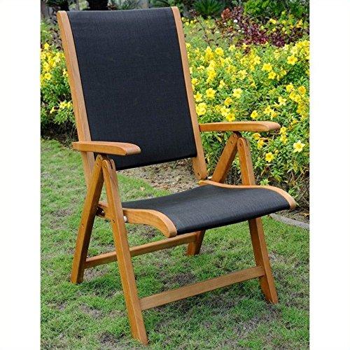 International Caravan Royal Tahiti Set of 2 Patio Chair in Natural Review