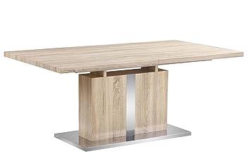 LIQUIDATODO ® - Mesa de comedor extensible moderna y barata en roble ...