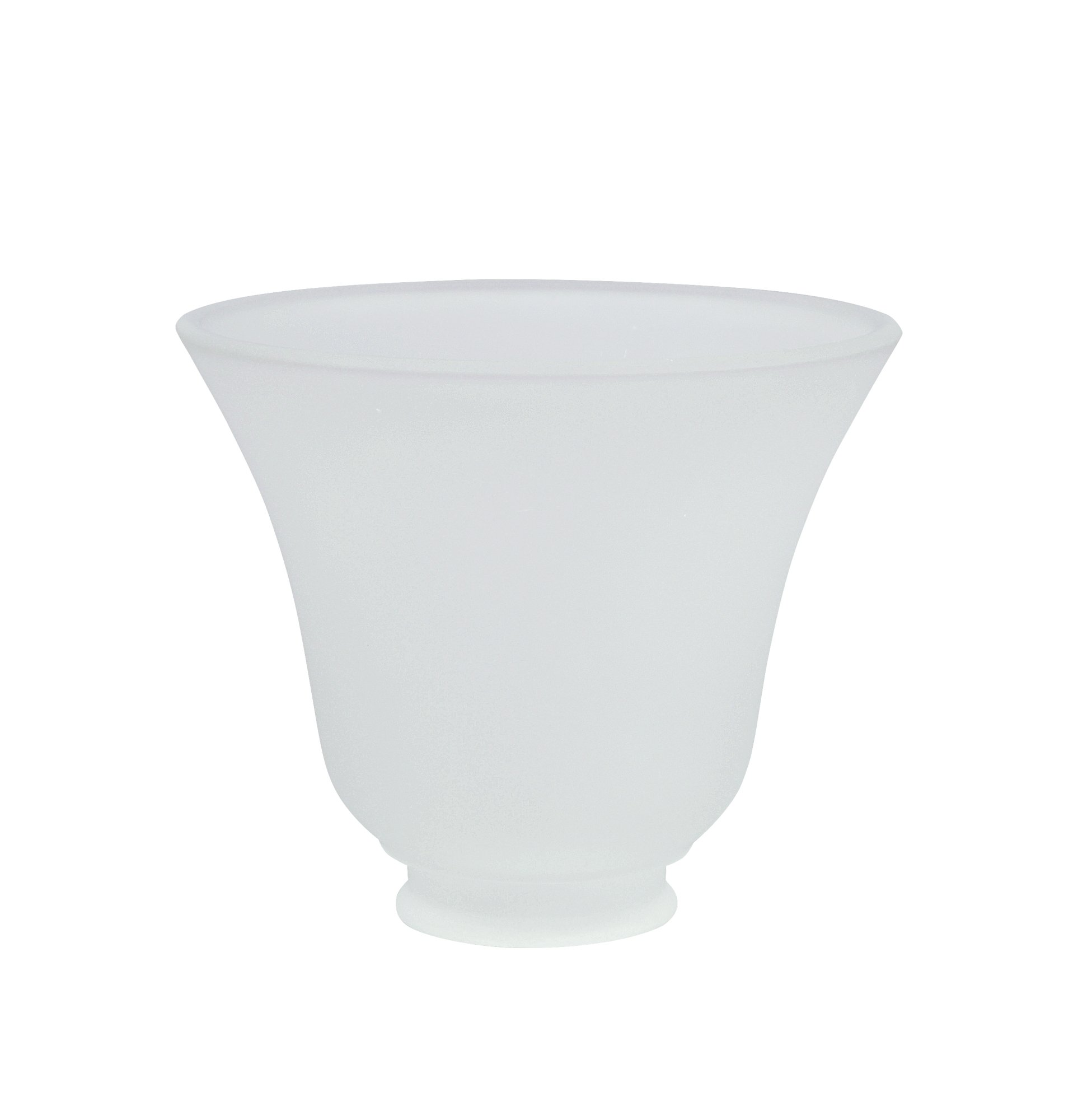 Aspen Creative 23026-4 Transitional Style Replacement Glass Shade, Frosted by Aspen Creative (Image #3)