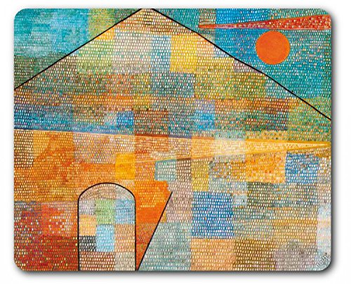 Paul Klee Mouse Pad - Ad Parnassum, 1932 (9 x 7 - Klee Abstract Painting