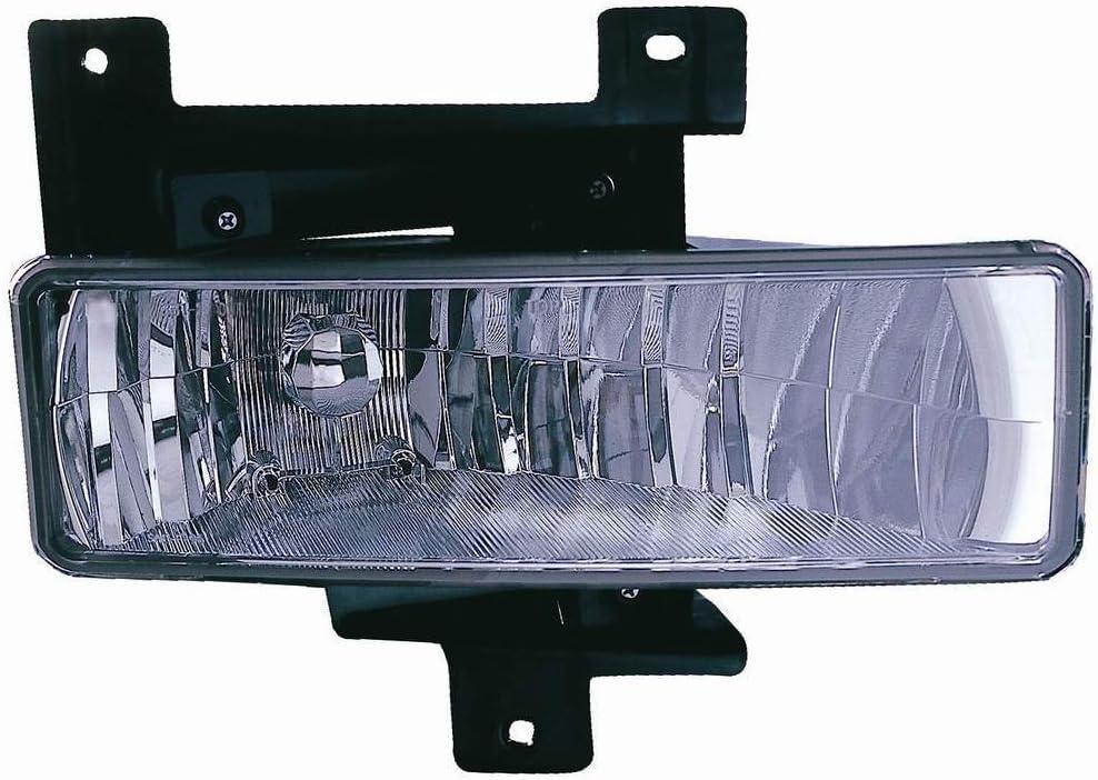 Driver side WITH install kit Larson Electronics 1015P9IY57G -Black 100W Halogen 6 inch 1997 Ford F600-F900 MEDIUM Post mount spotlight