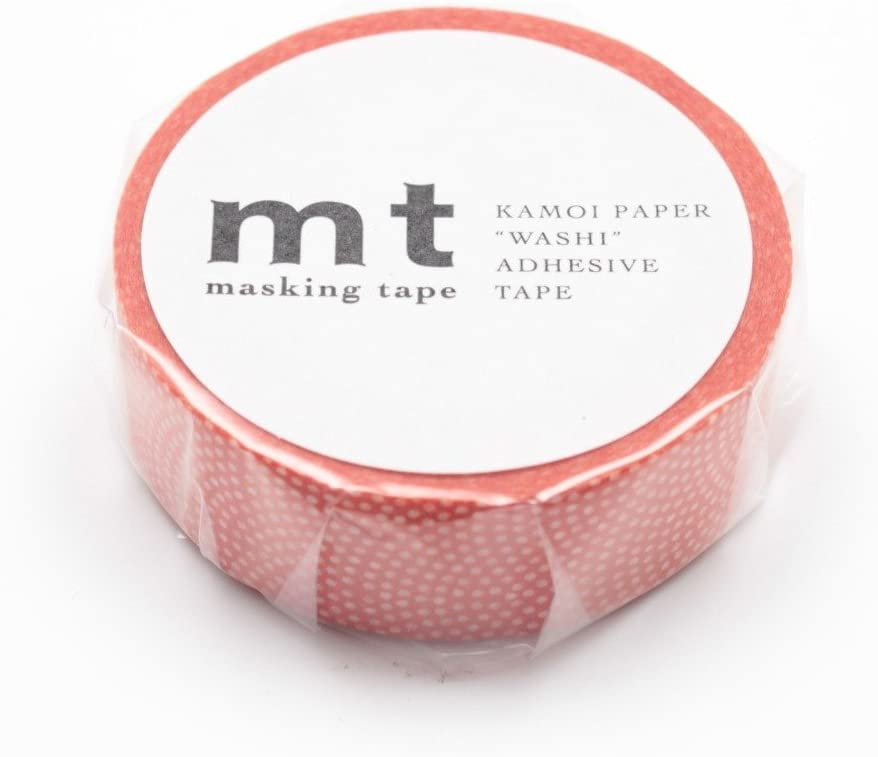 Mt Washi Masking Tape Shark Common Persimmon (MT01D212)