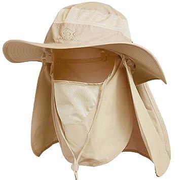 6edaf510230 Ddyoutdoor Sun Fishing Cap Neck Face Flap Hat Wide Brim