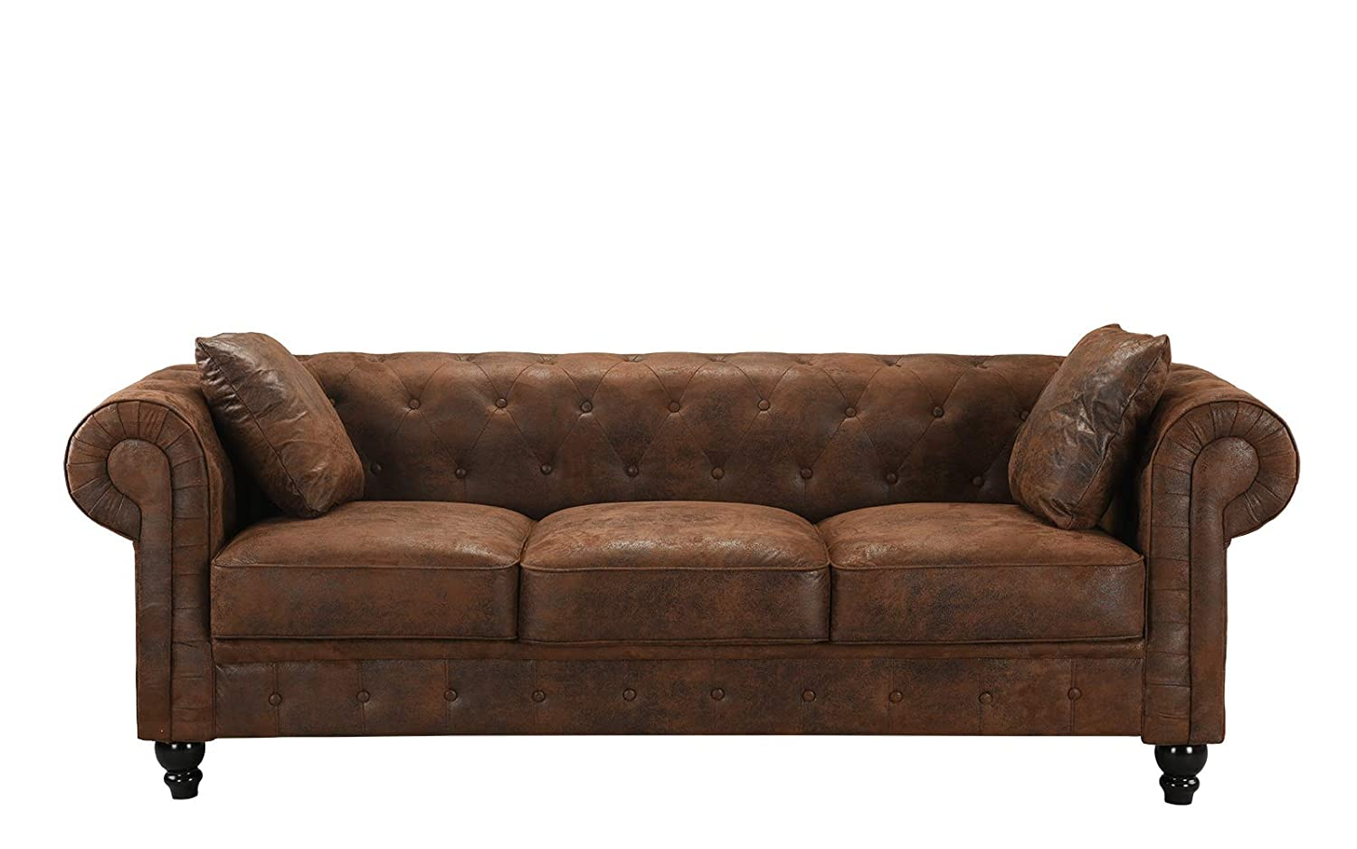 Brown Leather Couch Tan Walls And Suede Sofa Set Sofas ...