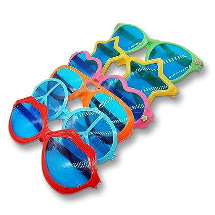 KiraKira Gafas de Sol de Fiesta Gafas de Sol en Forma de corazón Gafas Divertidas Accesorio de Vestuario Suministrospara la Fiesta Accesorios de Fotos ...