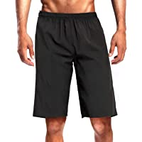 CAMEL CROWN Men's Running Shorts Quick Dry Gym Athletic Workout Training Tennis Lightweight Active Shorts No Liner