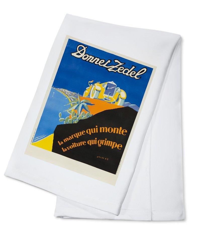 DONNET ZEDELヴィンテージポスター(アーティスト: Alexy Brodovitch )フランスC。1925 Cotton Towel LANT-63899-TL B018OBDBKC  Cotton Towel