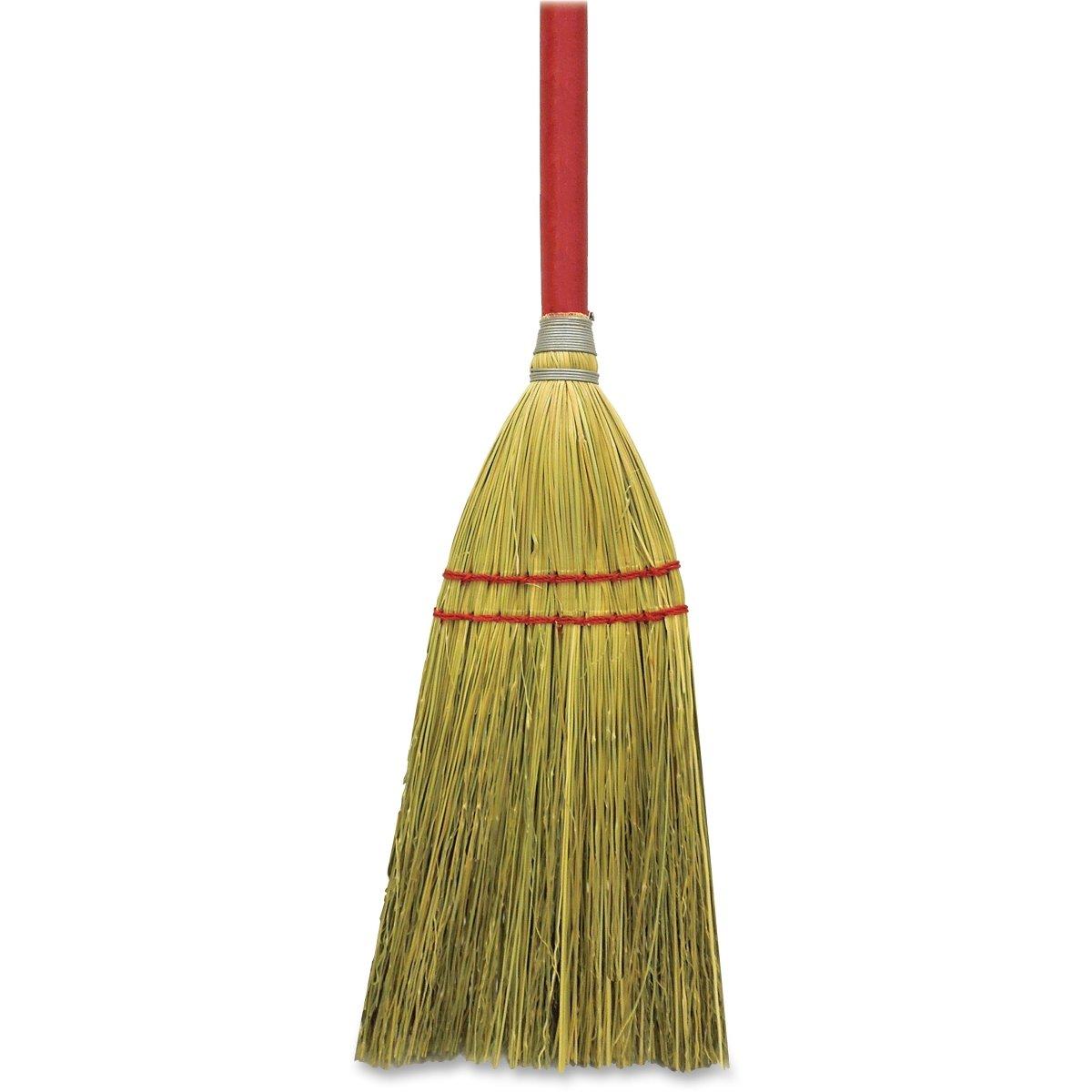 Genuine Joe GJO11501CT Toy Corn Fiber Broom, 12Ea/Ct, Natural (Pack of 12)