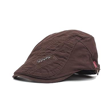 Sombreros Beret Hombre Flat Cap, De Primavera Verano Y Otoño De ...