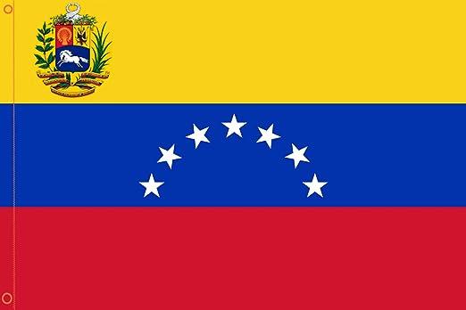 Durabol Bandera de Venezuela 7 Estrellas Flag 90x150cm Satin 2 ...