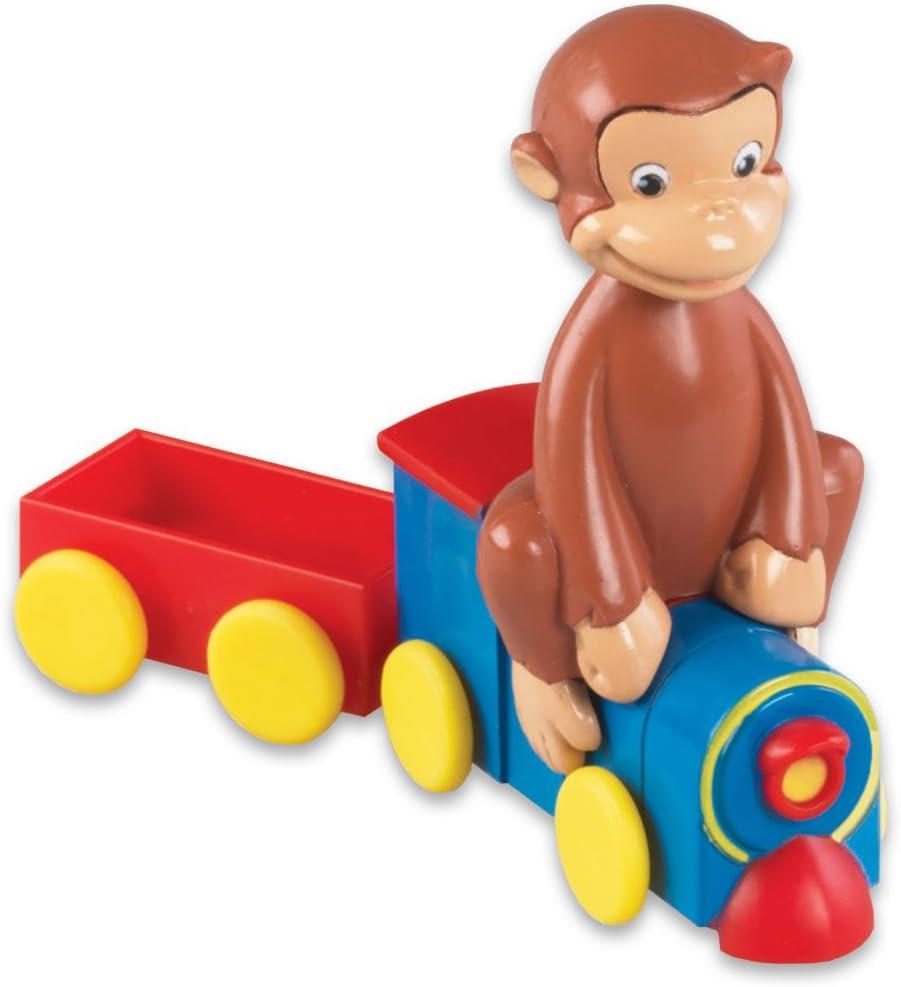 Amazon.com: Panadería Crafts – Tren de Curious George Cake ...