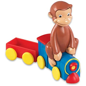 amazon co jp curious george train cake decorating topper kit by