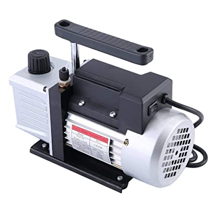 Sweepid Bomba de vacío 2.5 CFM 1/4HP 220 V 50 Hz 5 Pa bajo