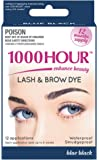 1000 HOUR Eyelash & Brow Dye Kit, Blue/Black, 72g