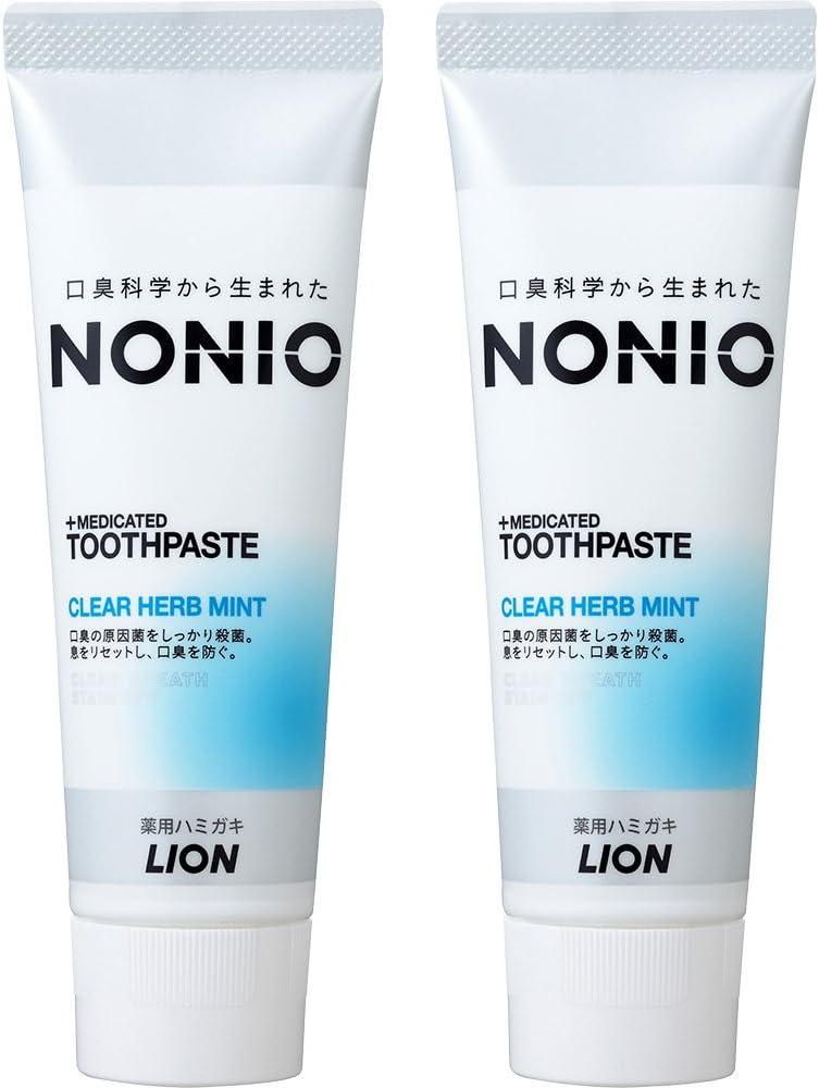 NONIO(ノニオ)ハミガキ クリアハーブミントのサムネイル
