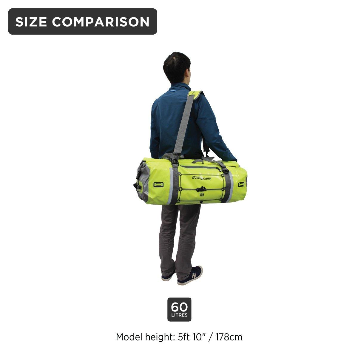 555741c18c Amazon.com  OverBoard Waterproof Pro-Vis Duffel Bag