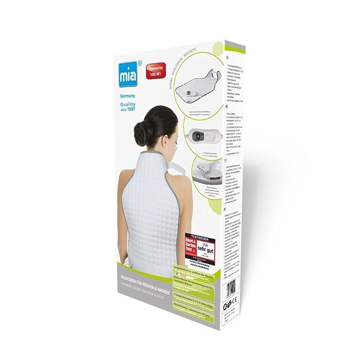 Mia HK 1022NE - Manta eléctrica para cuello y espalda