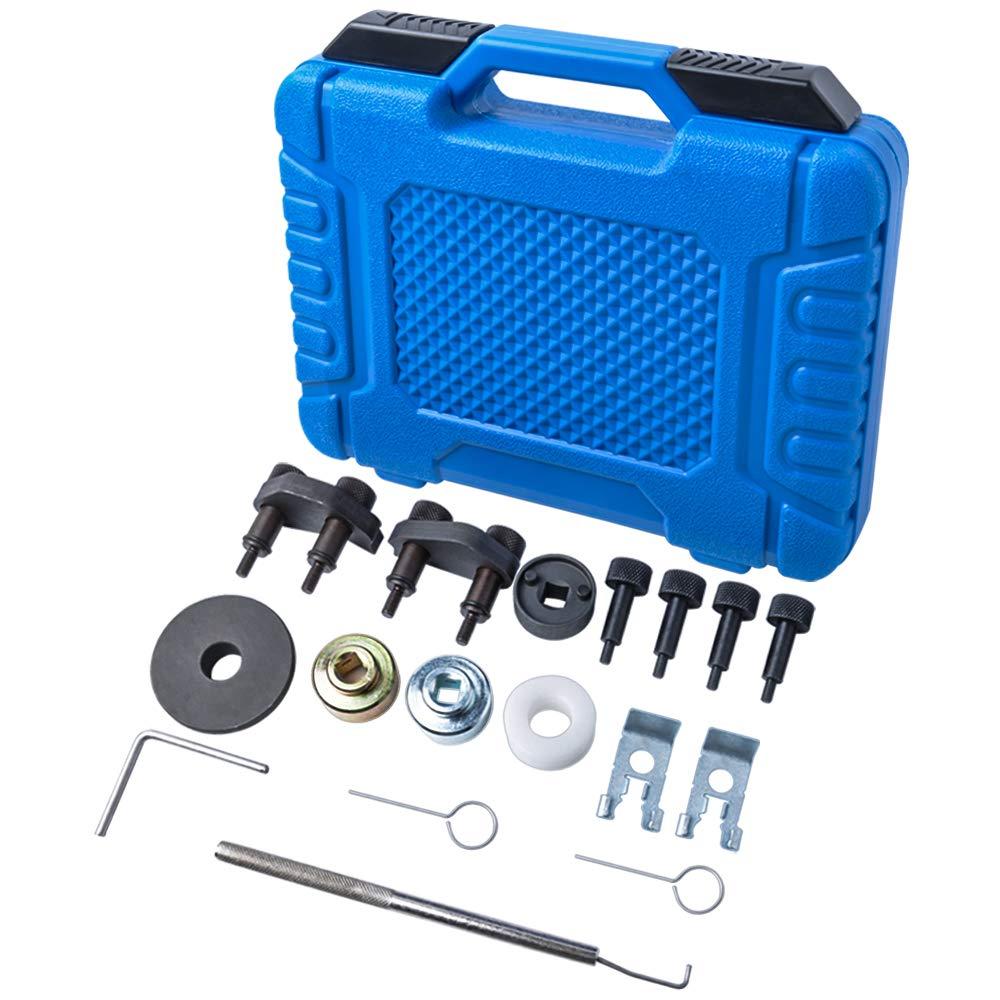 MIKKUPPA Engine Camshaft Locking Alignment Timing Tool Kit for Audi VW Skoda VAG 1.8 2.0 TFSI EA888 SF0233 by MIKKUPPA (Image #6)