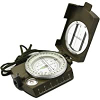 MK Multifunction Military Army Metal Sighting Compass High Accuracy Waterproof Compass Assorted Color