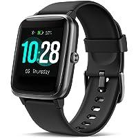 CHEREEKI Smartwatch, Fitness Tracker Orologio IP68 Impermeabilità con Cardiofrequenzimetro, Contapassi e Calorie da Polso, Activity Tracker Donna Uomo per iPhone Huawei Samsung Xiaomi