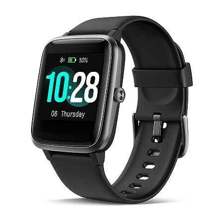 CHEREEKI Smart Watch, Fitness Tracker IP68 Waterproof with 1.3