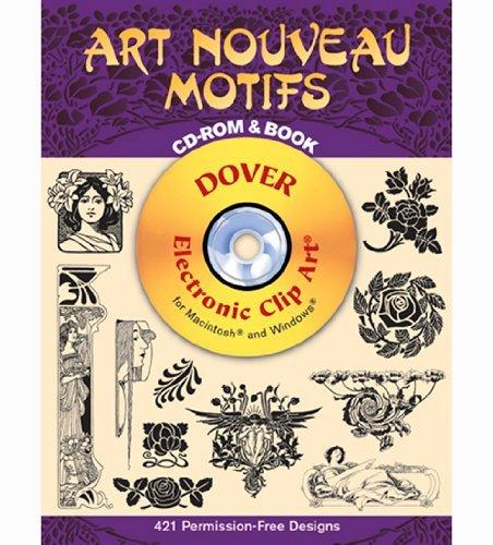 Dover Clip Art Cd/Book Art Nouveau Motif - Clipart Nouveau Shopping Results